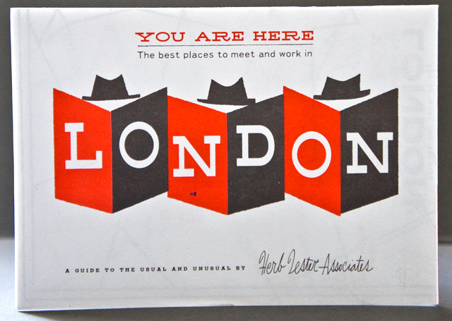 You Are Here : London by Herb Lester