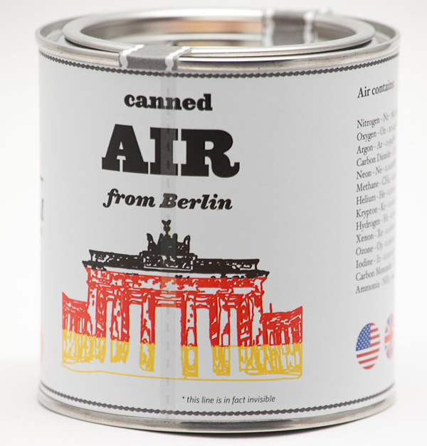 Original Canned Air from Berlin by Cooperativ