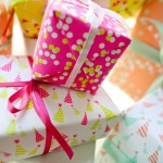 Fig. 2 Design Gift Wrap -Confetti, Pennants, and Party Hats