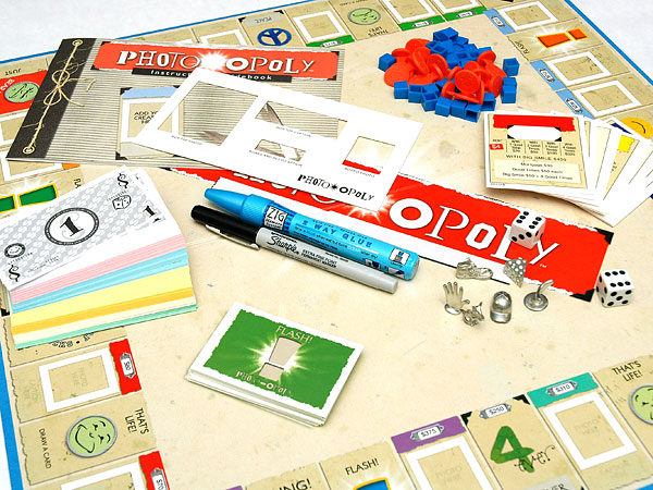 Photo-opoly DIY Phohotgraphy Board Game