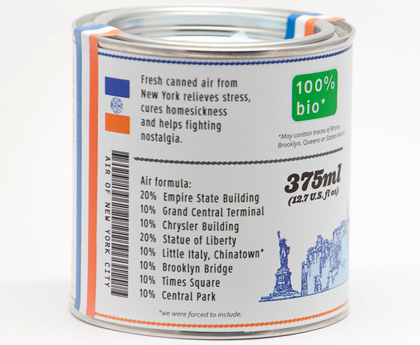 Original Canned Air Formula from New York City