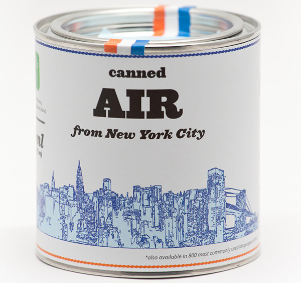 Original Canned Air from New York City by Cooperativ