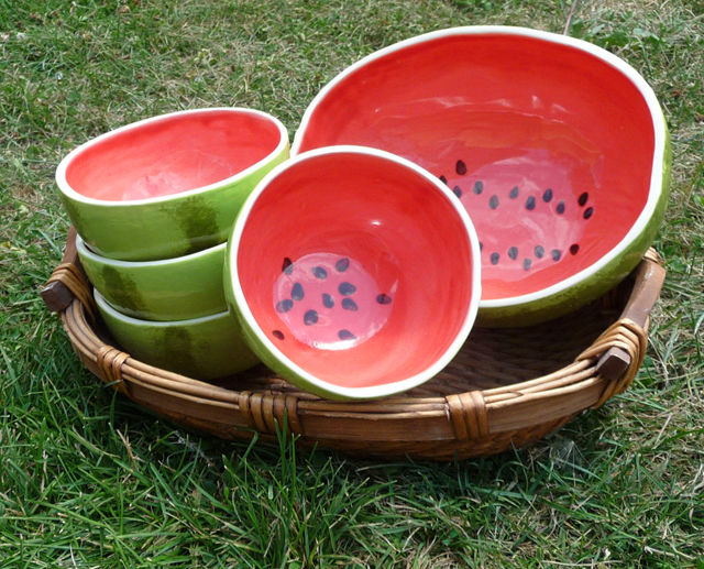 Watermelon Bowls by Vegetablowls