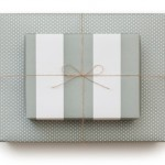 Sugar Paper Reversible Gift Wrap  Soft Grey