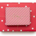 Sugar Paper Reversible Gift Wrap  Cheerful Red