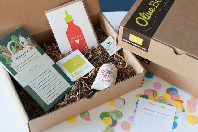 OliveBox Surprises Each Month