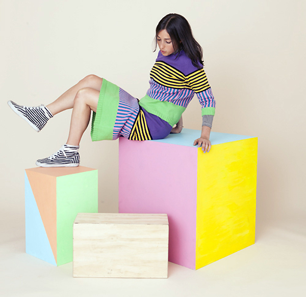 Coney Box Sweat & Skirt by Annie Larson