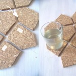 DIY House Shaped Coasters by Speculaas