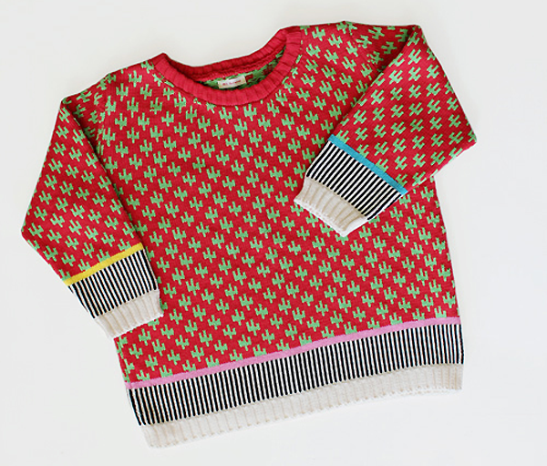 Cactus Box Sweater by Annie Larson