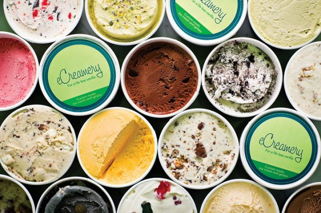 Custom Ice Cream &amp; Gelato Gifts from eCreamery