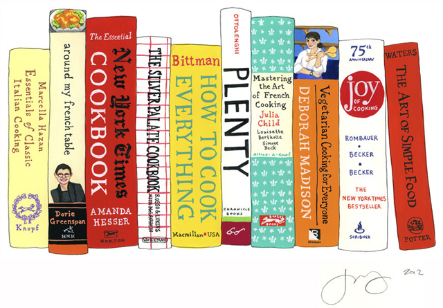Ideal Bookshelf 465: Food52 by Jane Mount
