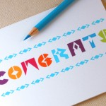Congrats Card by Oh Geez Design