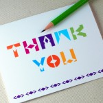 Thank You Card by Oh Geez Design