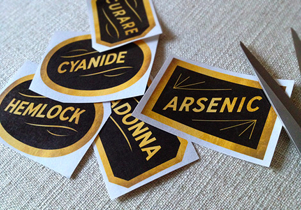 Printable Poison Apothecary Labels by Cathe Holden