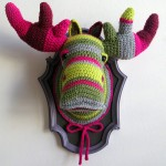 Crocheted Moose by Manafka Mina