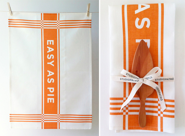 Easy As Pie Tea Towel Gift Set by Studiopatr