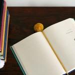 DIY Yarn Ball Bookmark by SeeJaneBlog for Design Mom