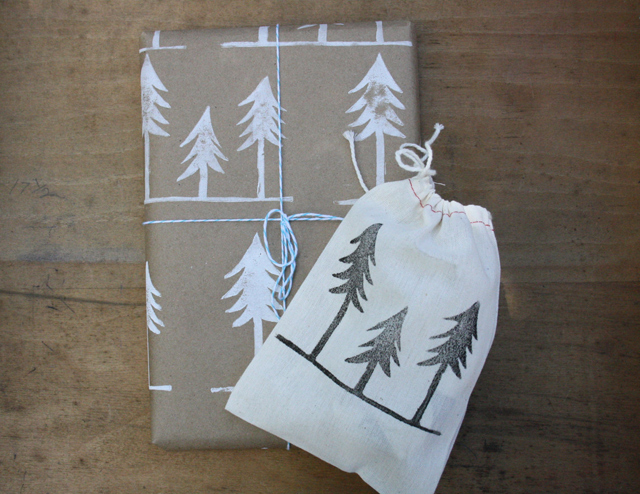 Christmas Gift Wrap by Urban Bird & Co.